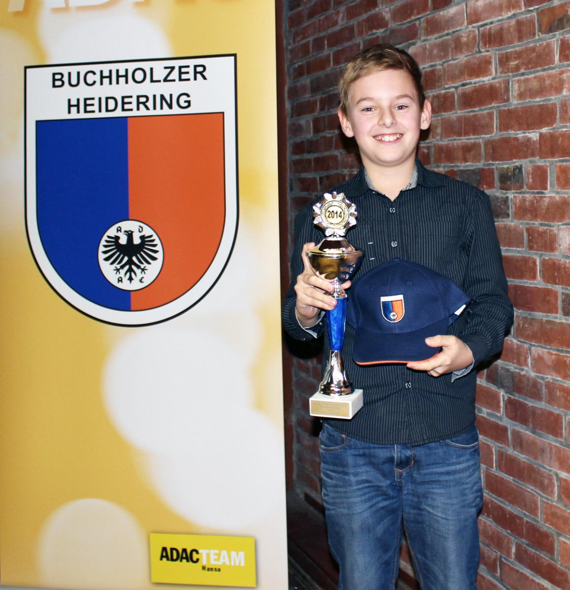 Vereinsmeister 2014 Erik Schnieber