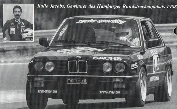 Kalle Jacobs, Gewinner des Hamburger Rundstreckenpokals 1988