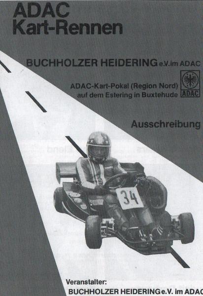 Ausschreibung ADAC-Kart-Pokal (Region Nord) auf dem Estering in Buchholz