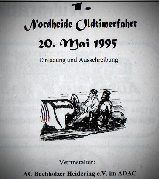 1. Nordheide Oldtimerfahrt 20. Mai 1995